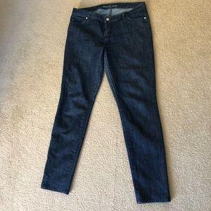 Michael Kors skinny dark jeans